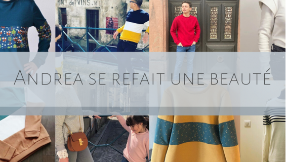 Le sweat Andrea, le basique de la garde-robe