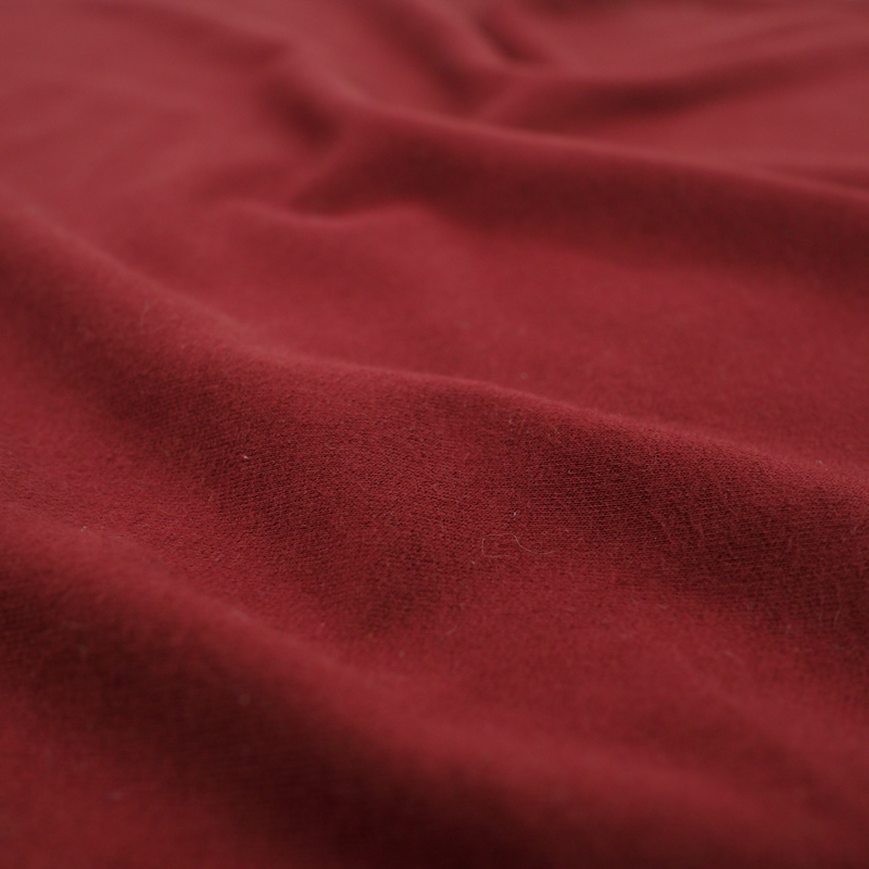 Tissu sweat bordeaux wine